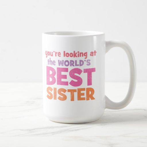 Die beste Schwester der Welt Teetassen