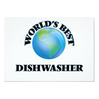 Die beste Spülmaschine der Welt Personalisierte Ankündigungskarte