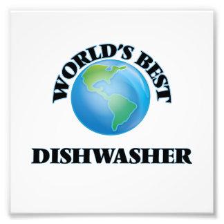 Die beste Spülmaschine der Welt Photo Druck