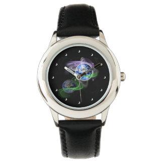 Die Besteigung der Erde Armbanduhr
