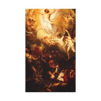 Die Besteigung von Christus Galerie Falt Leinwand