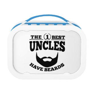 Die besten Onkel haben Bärte Brotdose