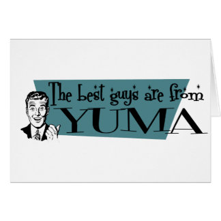 Die besten Typen sind von Yuma Karte
