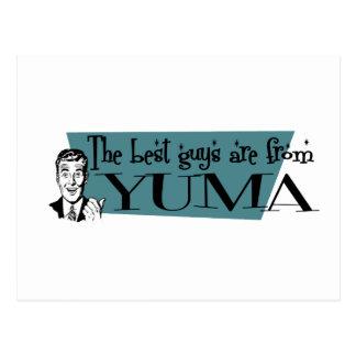 Die besten Typen sind von Yuma Postkarte