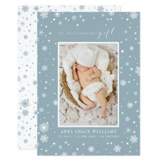 Die bestes Weihnachtsgeschenk-neugeborenen 12,7 X 17,8 Cm Einladungskarte