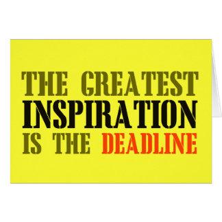 DIE BESTSTE INSPIRATION IST FRIST LUSTIGES MEME KARTE