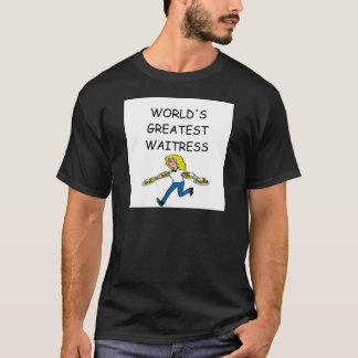 die bestste Kellnerin der Welt T-Shirt