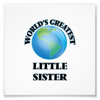 Die bestste kleine Schwester der Welt Photographien