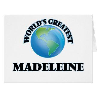 Die bestste Madeleine der Welt Karte