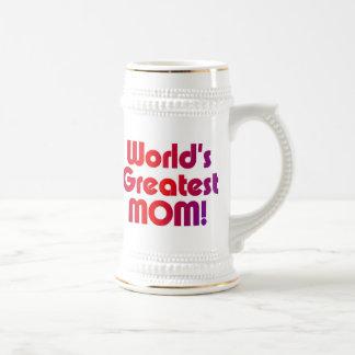 Die bestste Mamma der Welt Bierglas