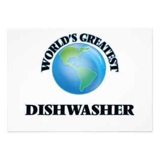 Die bestste Spülmaschine der Welt Individuelle Einladung