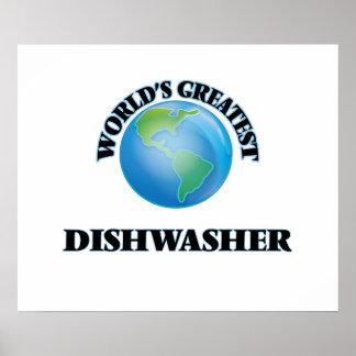 Die bestste Spülmaschine der Welt Poster