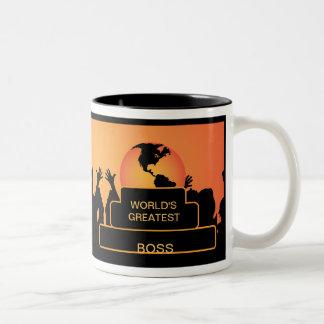 Die bestste Tasse der Chef-zujubelnden Welt