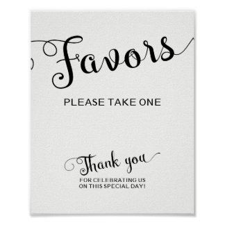 Die Bevorzugungen, die Zeichen nehmen Wedding sind Poster