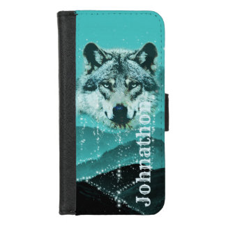 Die bezaubernden Wolf-Berge iPhone 8/7 Geldbeutel-Hülle