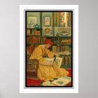 Die Bibliothek durch Grün Elizabeth Shippen Poster