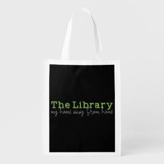 Die Bibliothek: Mein Zuhause weg von Zuhause Wiederverwendbare Einkaufstasche