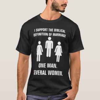 Die biblische Definition der Heirat T-Shirt