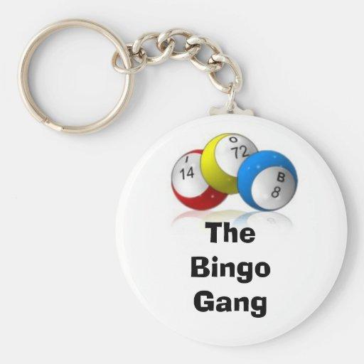 Die Bingo-Gruppe Schlüsselanhänger