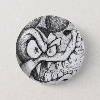 Die bitteren Ratten-Blues Runder Button 5,7 Cm