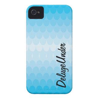 Die Blau-Stöße iPhone 4 Hülle