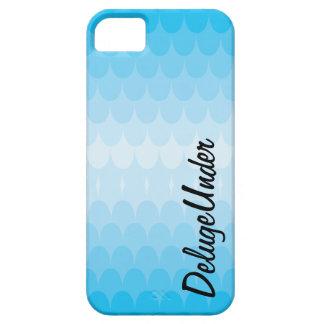 Die Blau-Stöße iPhone 5 Cover