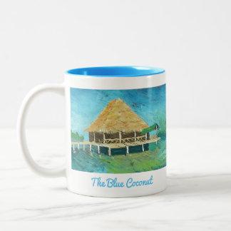 Die blaue Kokosnuss - Bocas Del Toro, Panama Tasse