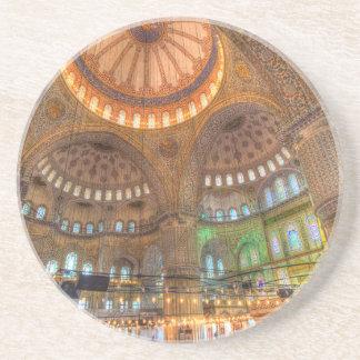 Die blaue Moschee Istanbul die Türkei Getränkeuntersetzer