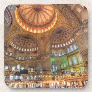 Die blaue Moschee Istanbul die Türkei Untersetzer