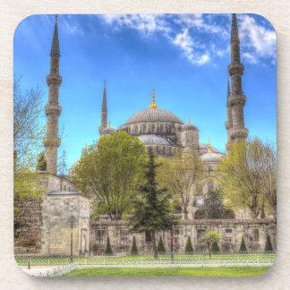 Die blaue Moschee Istanbul Getränkeuntersetzer