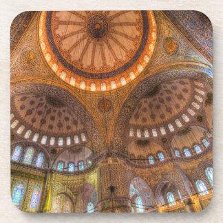 Die blaue Moschee Istanbul Untersetzer