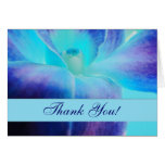 Die blaue Orchidee danken Ihnen Notecard