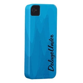 Die blaue Unschärfe iPhone 4 Hüllen
