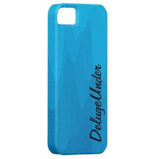 Die blaue Unschärfe iPhone 5 Schutzhülle