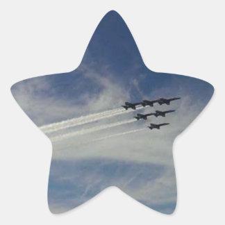 Die blauen Engel Stern-Aufkleber