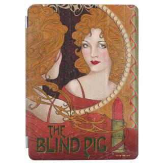 Die blindes Schwein-Vintage Grafik iPad Air Hülle