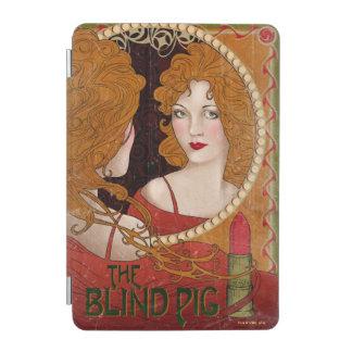 Die blindes Schwein-Vintage Grafik iPad Mini Hülle