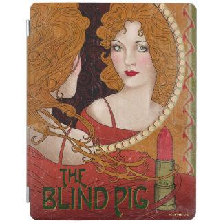 Die blindes Schwein-Vintage Grafik iPad Smart Cover