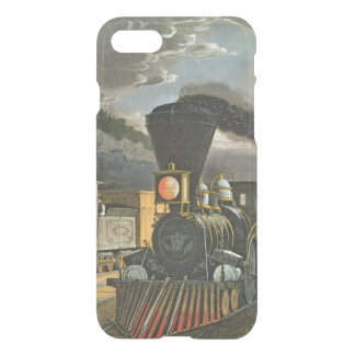 Die Blitz-Eilzüge, 1863 iPhone 8/7 Hülle