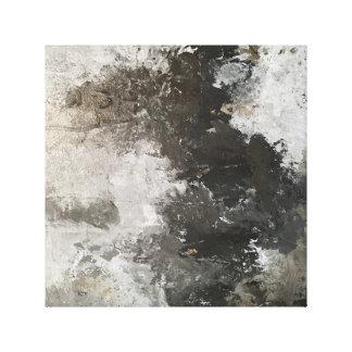 Die Blizzard-moderne Kunst Leinwanddruck