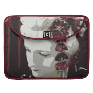 die blonde Geisha MacBook Pro Sleeve