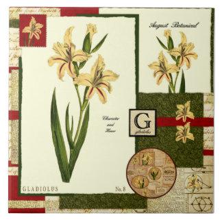 Die Blume des Augusts Große Quadratische Fliese
