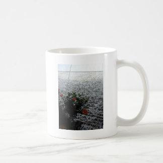 Die Blumen und das Wasser Kaffeetasse