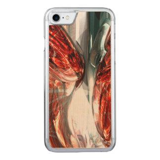 Die Blut-Verteilung abstrakt Carved iPhone 8/7 Hülle