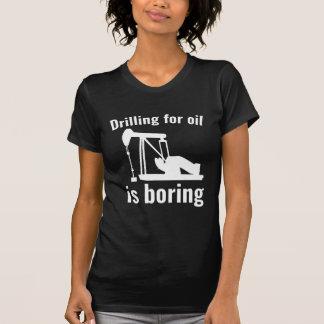 Die Bohrung für Öl bohrt T-Shirt