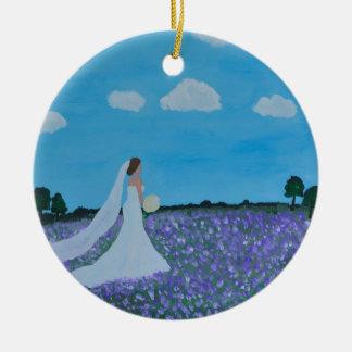 Die Braut Keramik Ornament