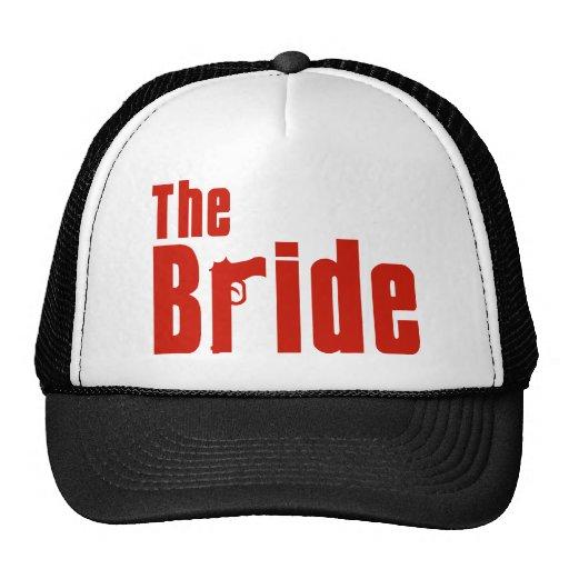 Die Braut (Mafia-Rot) Retrokultmütze