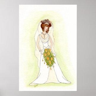 Die Braut Plakatdrucke