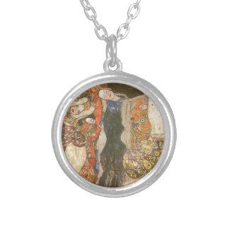 Die Braut (unfertig) durch Gustav Klimt Versilberte Kette