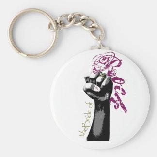 Die Braut von Rockz Standard Runder Schlüsselanhänger